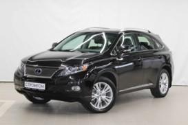 Lexus RX 2012 г. (черный)