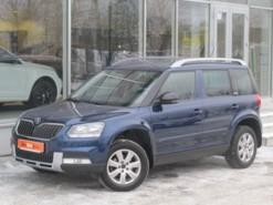 Škoda Yeti 2015 г. (синий)