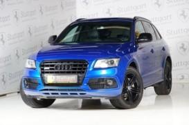 Audi Q5 2016 г. (синий)