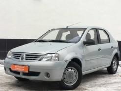 Renault Logan 2008 г. (серебряный)