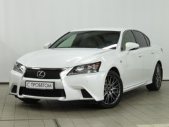 Lexus GS 2012 г. (белый)