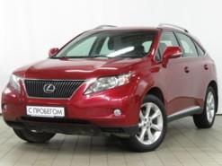 Lexus RX 2011 г. (красный)