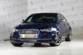 Audi S6 2014 г. (синий)