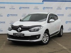 Renault Megane 2015 г. (белый)
