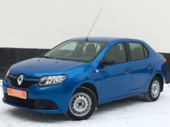 Renault Logan 2015 г. (синий)