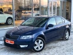 Škoda Octavia 2015 г. (синий)