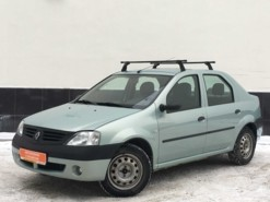 Renault Logan 2007 г. (зеленый)