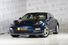 Porsche Panamera 2010 г. (синий)