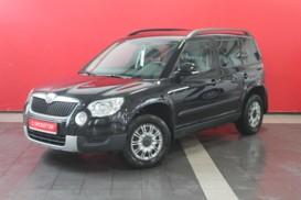 Škoda Yeti 2012 г. (черный)