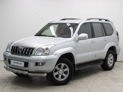 Toyota Land Cruiser Prado 2005 г. (серебряный)