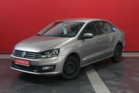 Volkswagen Polo 2015 г. (бежевый)