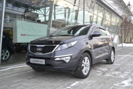 Kia Sportage 2012 г. (серый)