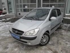 Hyundai Getz 2008 г. (серебряный)