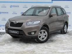 Hyundai Santa FE 2010 г. (коричневый)
