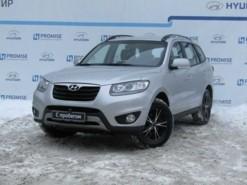 Hyundai Santa FE 2011 г. (серебряный)
