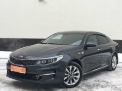 Kia Optima 2016 г. (серый)
