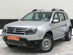 Renault Duster 2013 г. (серебряный)