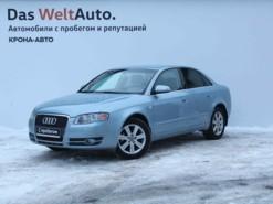 Audi A4 2006 г. (голубой)