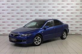 Mazda 6 2006 г. (синий)