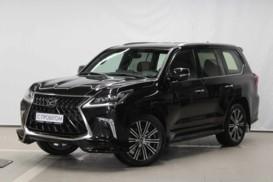 Lexus LX 2018 г. (черный)
