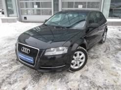 Audi A3 2012 г. (черный)