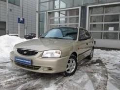 Hyundai Accent 2006 г. (бежевый)
