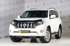 Toyota Land Cruiser Prado 2013 г. (белый)