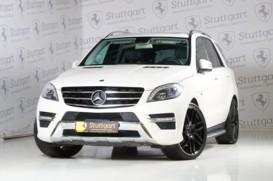 Mercedes-Benz M-klasse 2012 г. (белый)