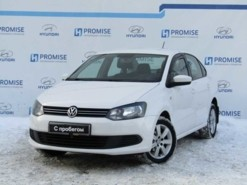 Volkswagen Polo 2013 г. (белый)