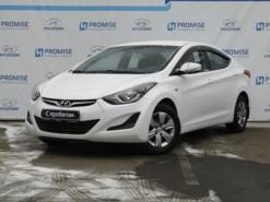 Hyundai Elantra 2014 г. (белый)