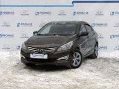 Hyundai Solaris 2015 г. (коричневый)