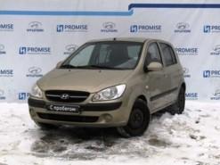 Hyundai Getz 2009 г. (бежевый)