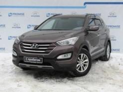 Hyundai Santa FE 2013 г. (коричневый)