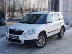 Škoda Yeti 2012 г. (белый)