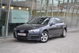 Audi A4 2017 г. (серый)