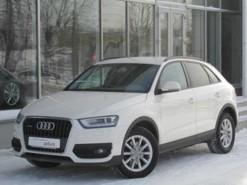 Audi Q3 2014 г. (белый)
