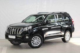 Toyota Land Cruiser Prado 2016 г. (черный)