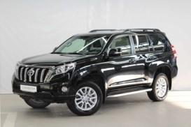 Toyota Land Cruiser Prado 2016 г. (черный)