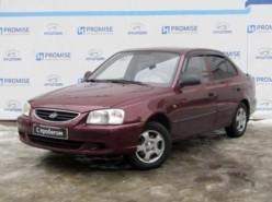 Hyundai Accent 2009 г. (красный)