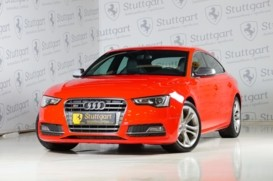 Audi S5 2012 г. (красный)