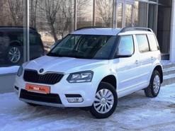 Škoda Yeti 2014 г. (белый)
