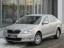 Škoda Octavia 2012 г. (бежевый)