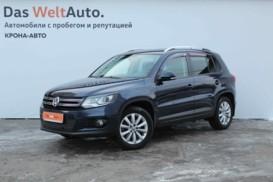 Volkswagen Tiguan 2016 г. (синий)