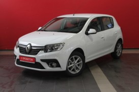 Renault Sandero 2018 г. (белый)