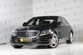 Mercedes-Benz S-klasse 2014 г. (черный)