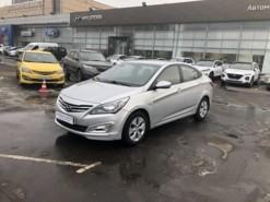 Hyundai Solaris 2016 г. (серебряный)