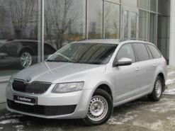 Škoda Octavia 2013 г. (серебряный)