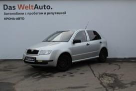 Škoda Fabia 2001 г. (серебряный)