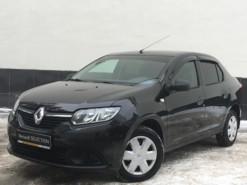 Renault Logan 2017 г. (черный)