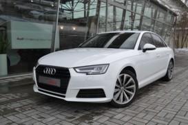 Audi A4 2017 г. (белый)
